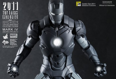 Hot Toys Iron Man Mark IV Secret Project Figure 1