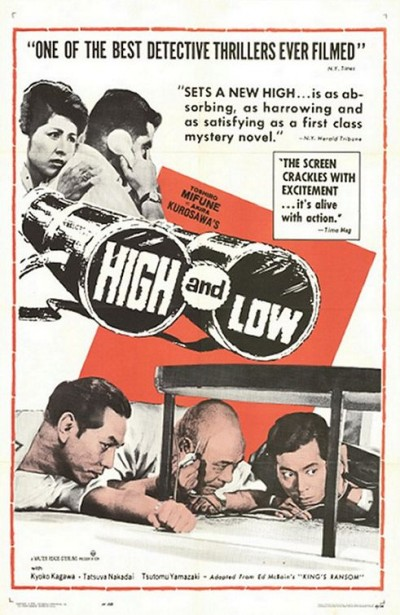 Kurosawa's High and Low poster