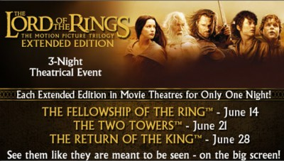 Lord of the Rings Fathom Event