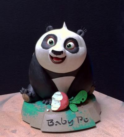 Kung Fu Panda 2 sculpt