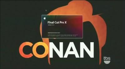 Conan O'Brien Final Cut Pro sketch