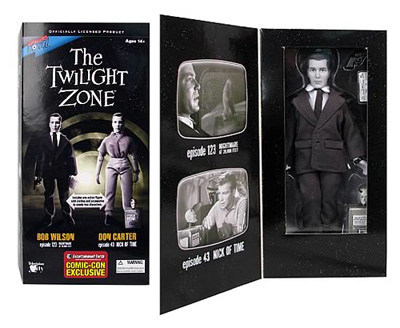 A Twilight Zone Shatner Action Figure