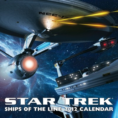 Star Trek Ships of the Line Calendar 2012
