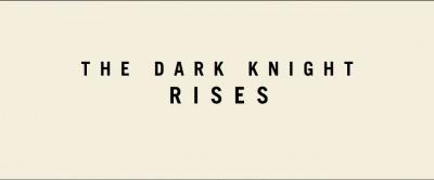 The Dark Knight Rises Teaser 1