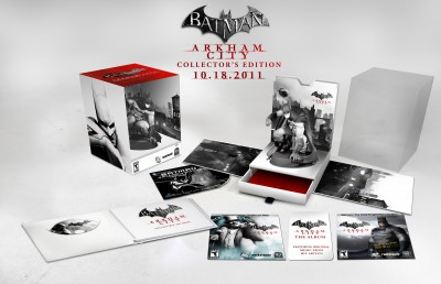 Batman Arkham City Collectors Edition