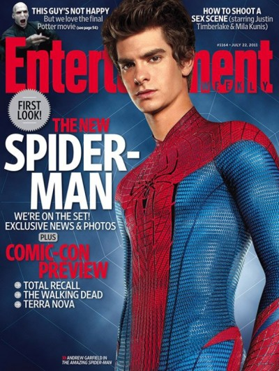 Amazing Spider-Man EW cover