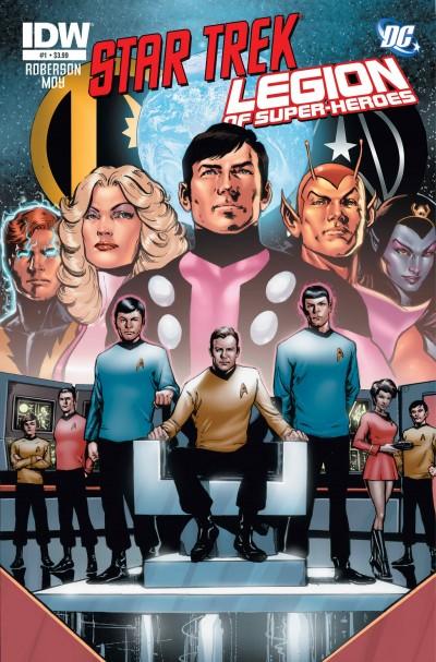 Legion of Superheroes/Star Trek crossover