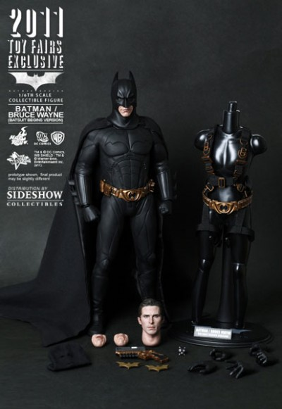 Hot Toys Bruce Wayne in Batsuit 3