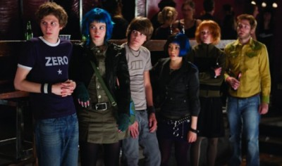 Scott Pilgrim group shot