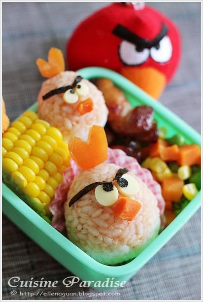 Angry Birds Bento Box