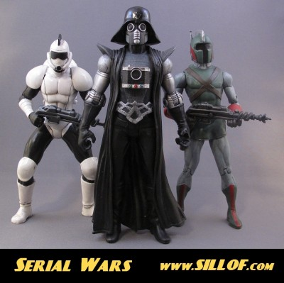 Sillof Serial Wars customs 3