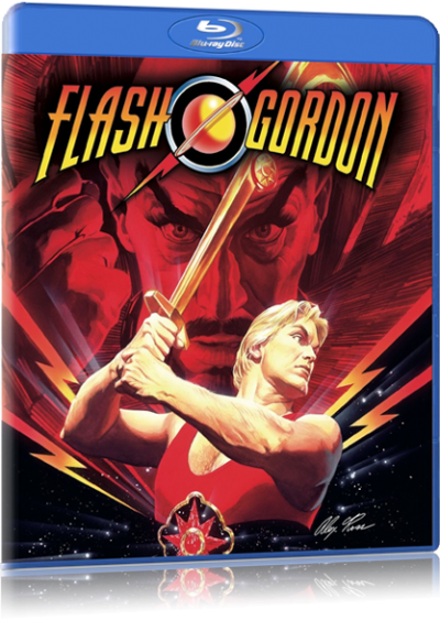 Flash Gordon blu-ray case