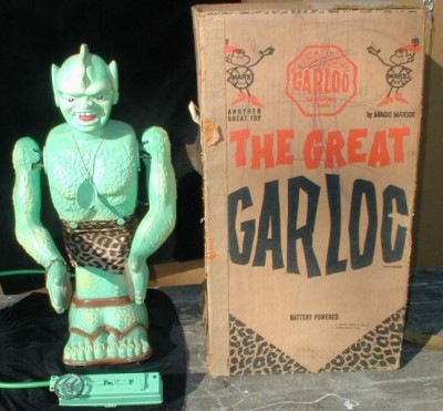 The Great Garloo circa 1961 was a robot toy