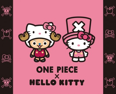 One Piece and Hello Kitty to Collaborate