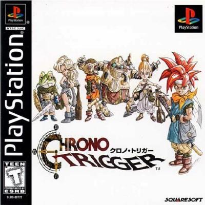 Chrono Trigger PSOne Cover