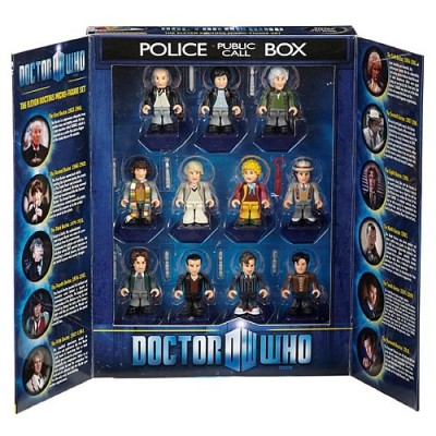 Doctor Who Eleven Doctors Minifigure Tardis Set