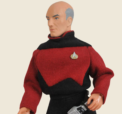 Captain Picard Mego-style Figure (close)