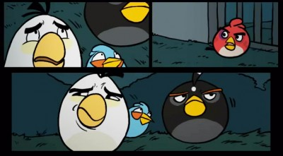 The Angry Birds Motion Comic