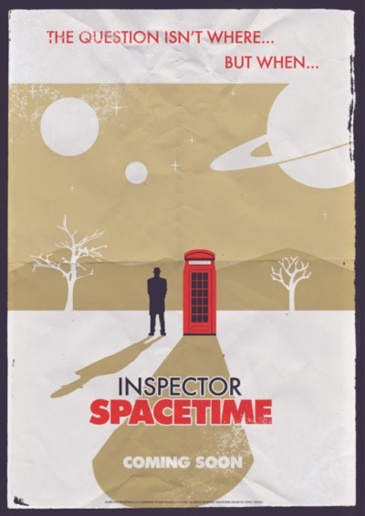 Inspector Spacetime 1964 poster