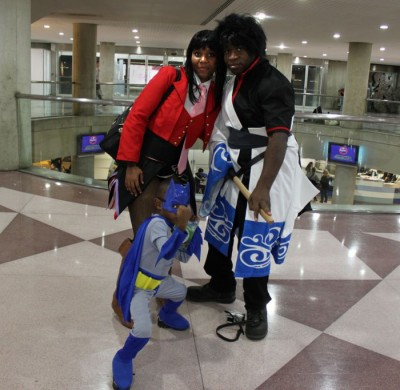The Coolest Parents in the Universe: Family Cosplay at New York Comic Con: photo by Christian Liendo