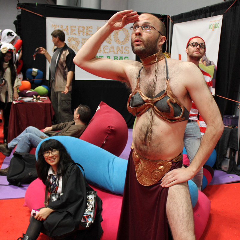 The Silly Side of New York Comic Con: Photo by Christian Liendo
