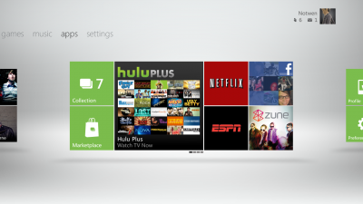 Xbox 360 2011 Fall dashboard update
