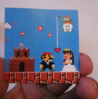Super Mario Wedding Invitations 4