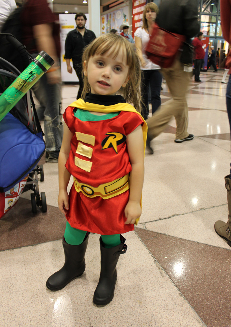 The Cutest Little Superheroes: Kid Cosplayers Hit New York ...