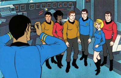 Star Trek: The Animated Series crew