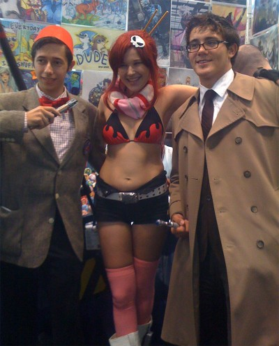 Are Dr. Who and Yoko Littner an Item?