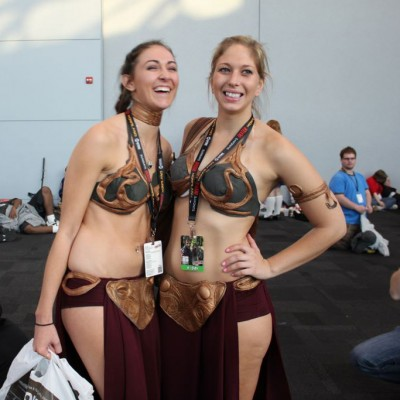 Princess Leia Meets the Clone Wars - photo by Christian Liendo
