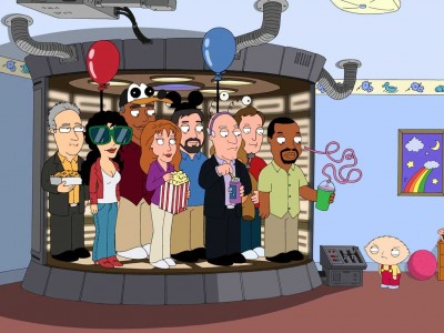 Star Trek The Next Generation Cast on Family Guy