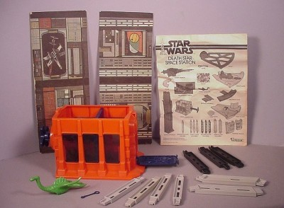 Vintage 1979 Star Wars Death Star Space Station playset toys MIB for figures