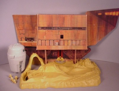 """Vintage 1979 Star Wars Land of the Jawas playset toy MIB for 3 3/4"""" figures"""