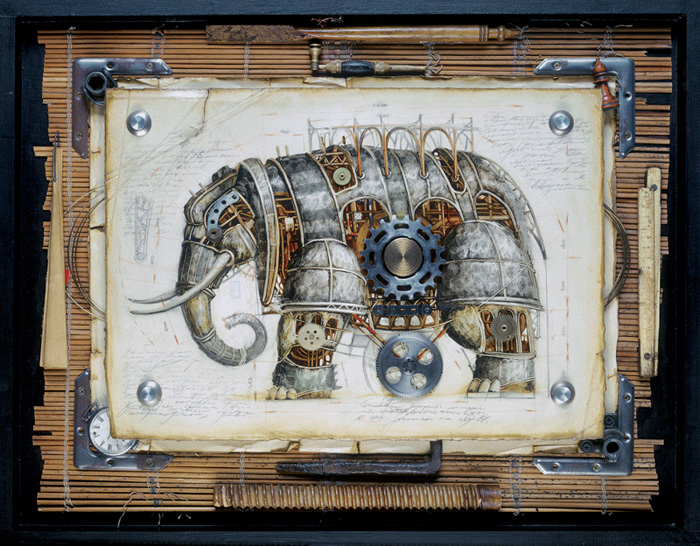 An Amazing Zoo of Steampunk Animals from Vladimir Gvozdev ...