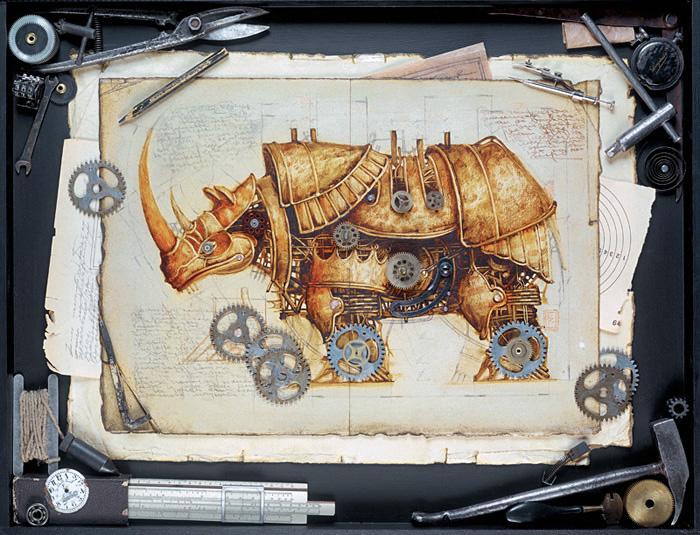 An Amazing Zoo of Steampunk Animals from Vladimir Gvozdev ...