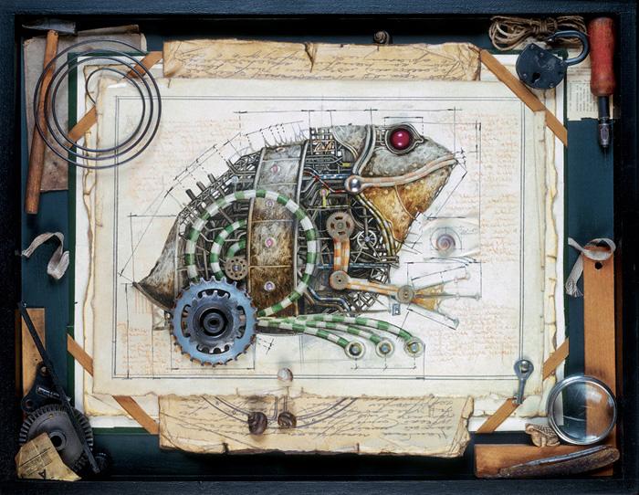 Geek Art Gallery: Gallery: Steampunk Animals