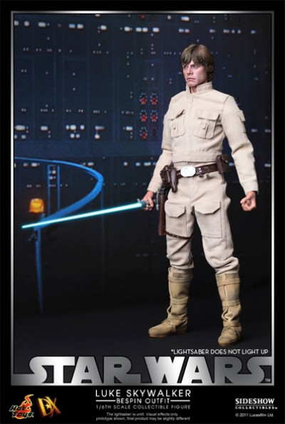 Hot Toys Luke Skywalker DX Series Bespin 3
