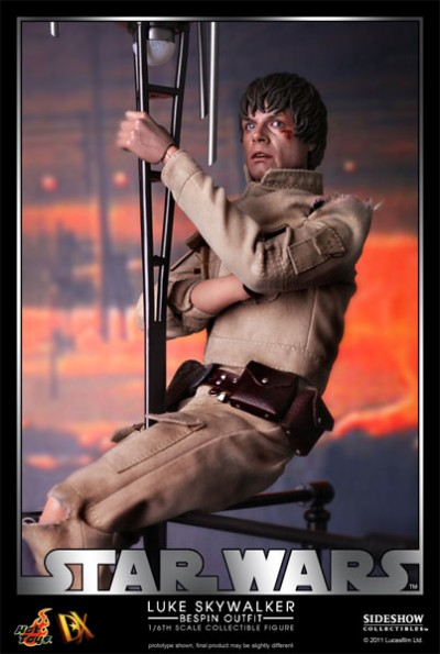 Hot Toys Luke Skywalker DX Series Bespin 2