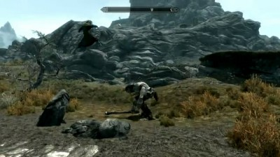 Skyrim Giant Smash Bug 2