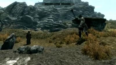 Skyrim Giant Smash Bug 1