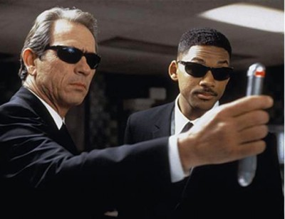 Will Smith and Tommy Lee Jones Men in Black