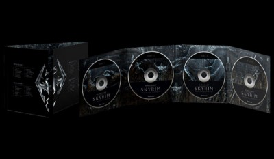 Skyrim Soundtrack 4-Disc Set