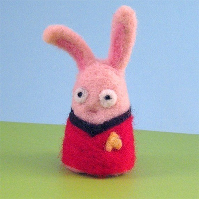 Expendable Star Trek Bunny