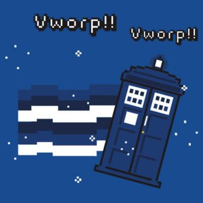 Brenda's Nyan-cat TARDIS crossover