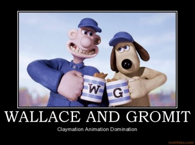 Wallace and Gromit Demotivational Poster