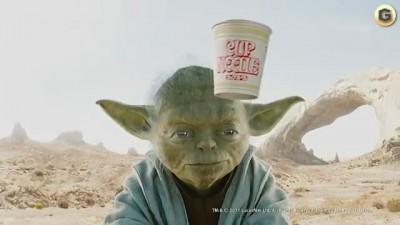 Yoda Ramen Commercial 3