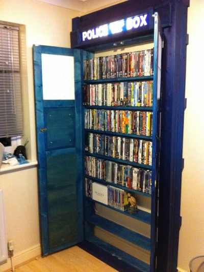 Tardis Bookcase by msmuse101 of Derby, UK