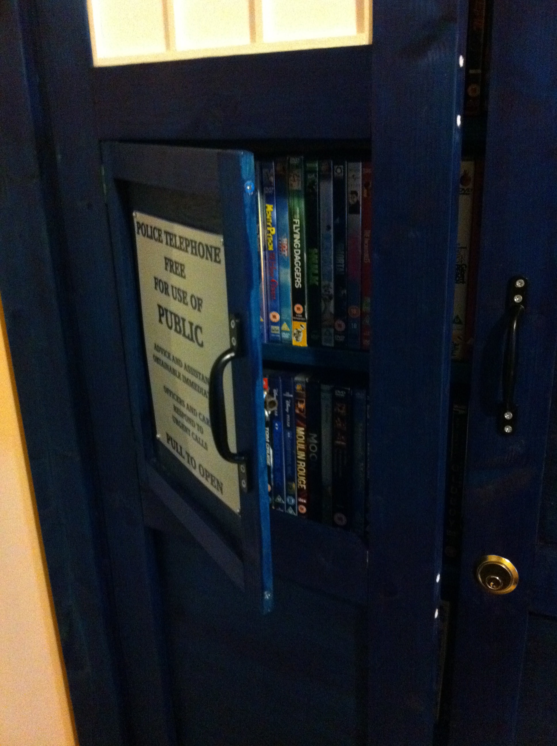 A Tardis Bookshelf Worthy of a Time Lord's DVD Collection ...