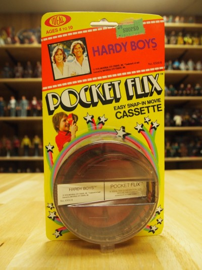 Star Trek Pocket Flix Viewer from Ideal toys circa 1978 featuring the Hardy Boys